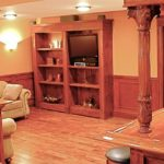 basement remodeling wood 2