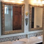 bathroom remodel glass bowl 2