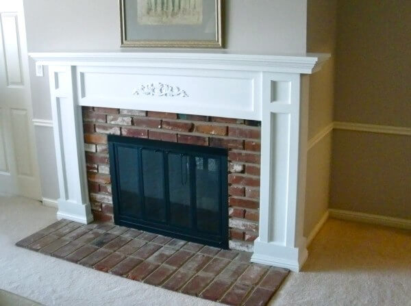 fireplace before after 2