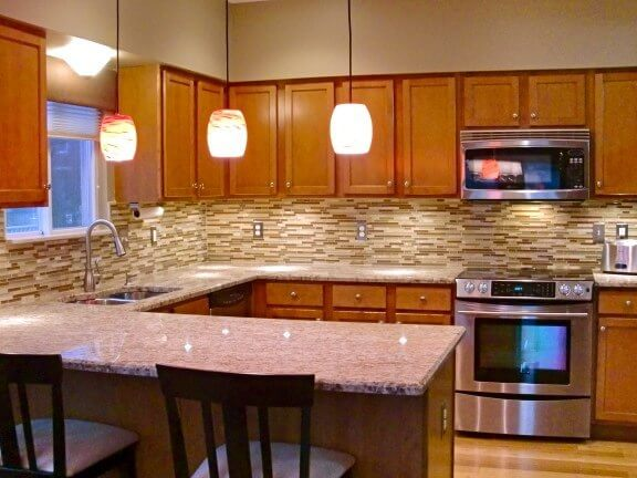 Kitchen 2 before after 2